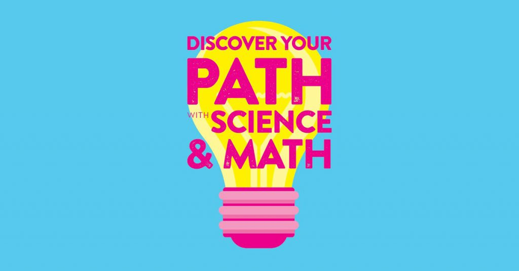 2018-19 School Poster: Discover Your Path with Science and Math