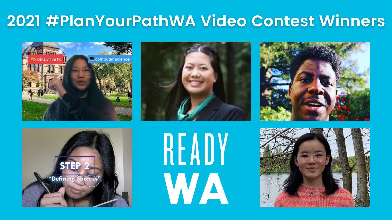 2021 #PlanYourPathWA Student Video Contest