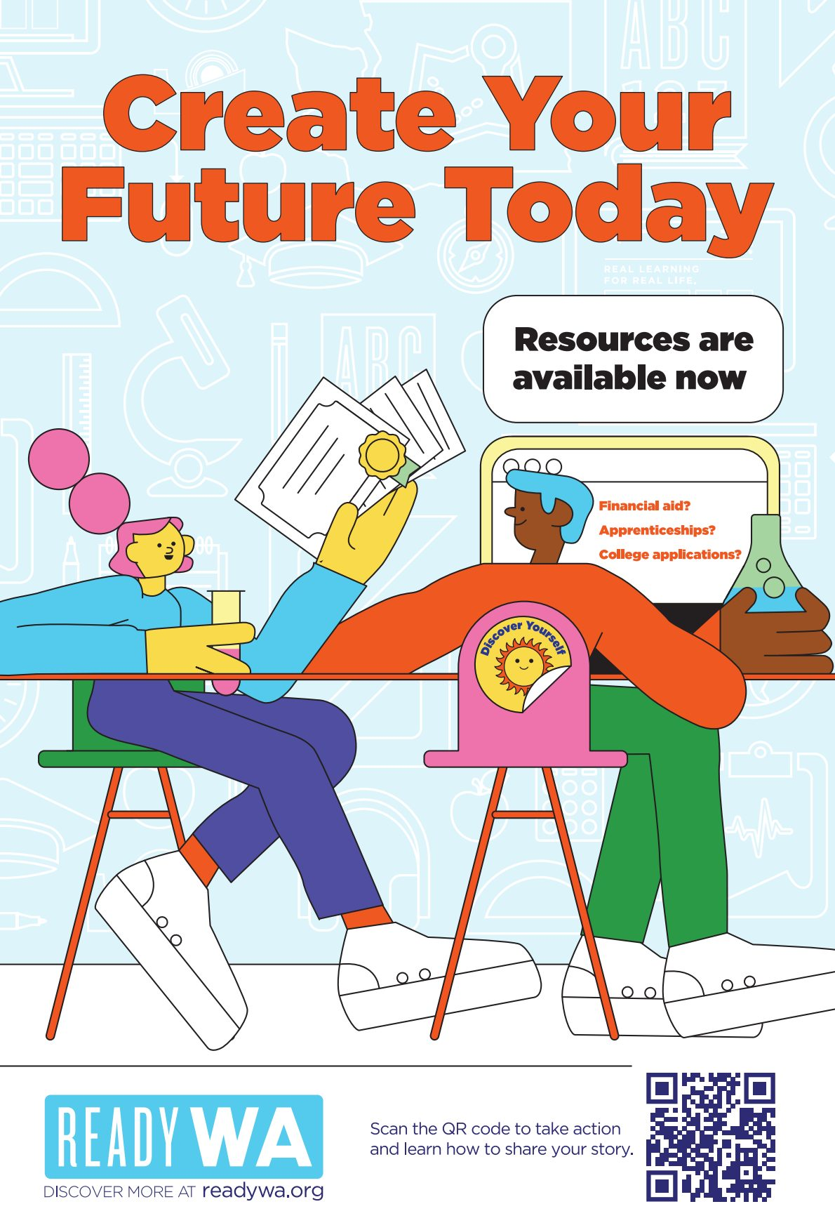 2021-22 Poster: Create Your Future