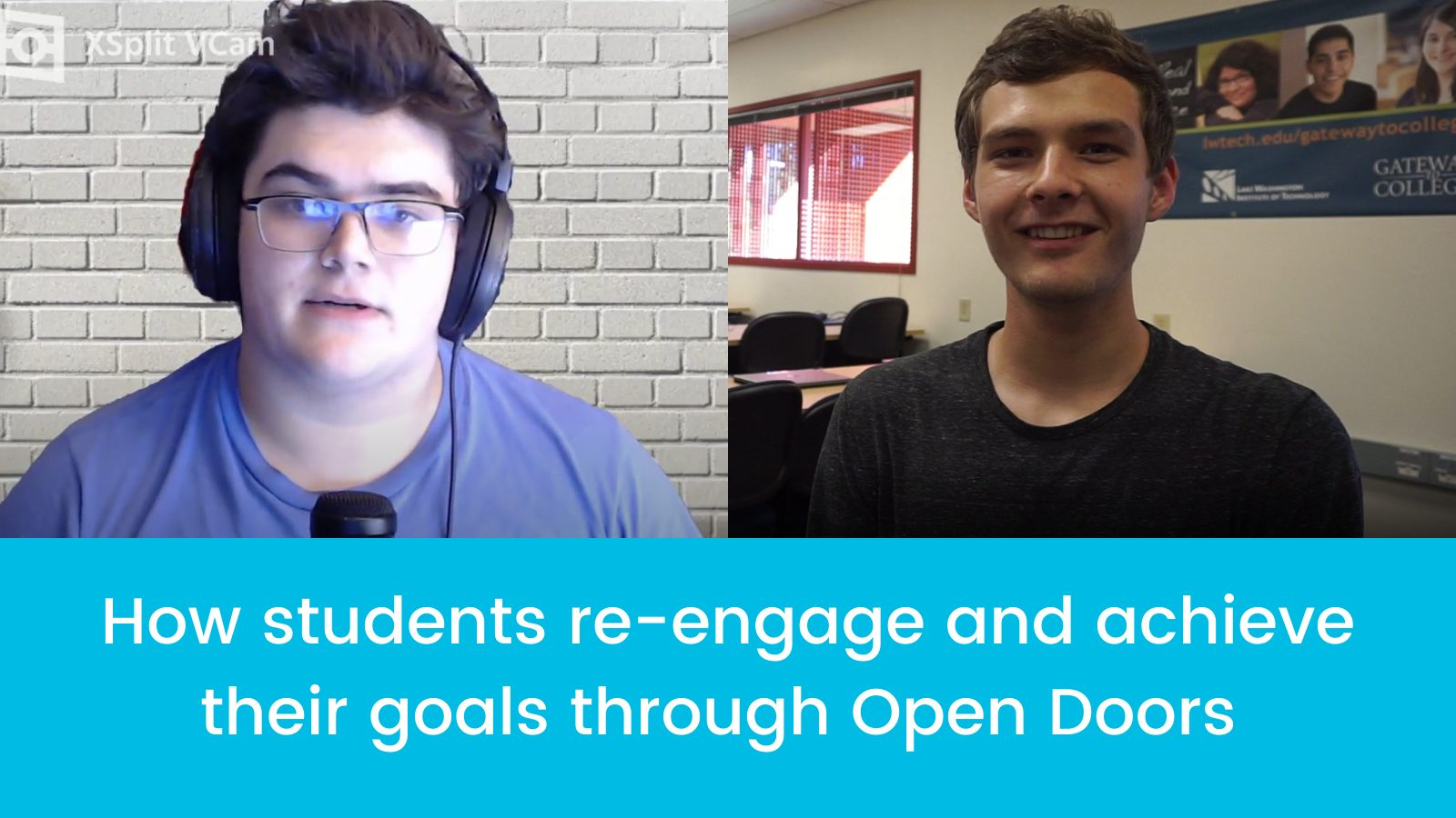 How students reengage and achieve their goals through Open Doors